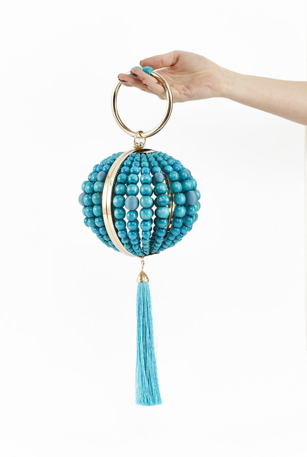 Billie Bag With Turquoise Beads