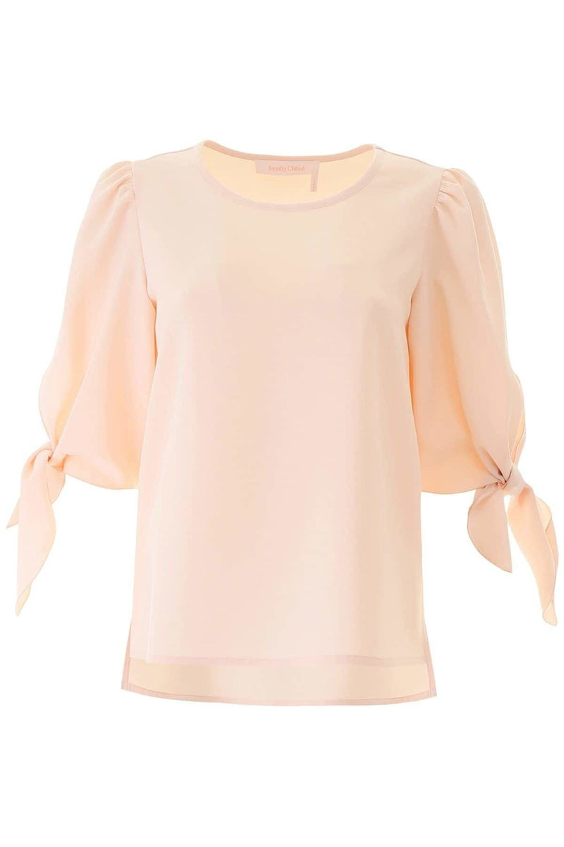 See by Chloé Tie Sleeve Blouse