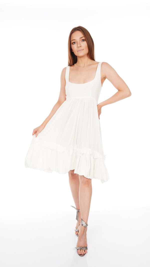 Brock Collection - Cotton Voile Babydoll Dress