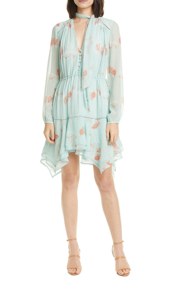 Jonathan Simkhai - Irena Rose Silk Dress