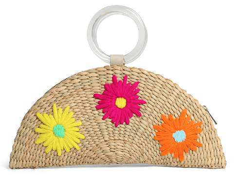POOLSIDE - Embroidered Croissant Bag - SS20-Croissant-Bright