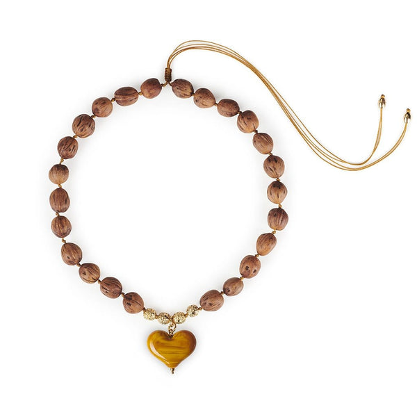 TOHUM - Cuore Resort Necklace With Honey Heart