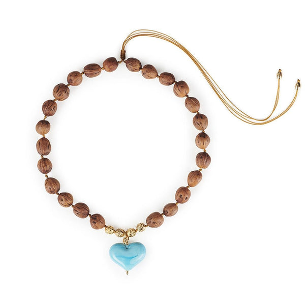TOHUM - Cuore Resort Necklace With Turquoise Heart