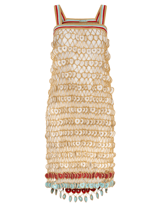 MY BEACHY SIDE - DAHLIA CROCHET MINI DRESS