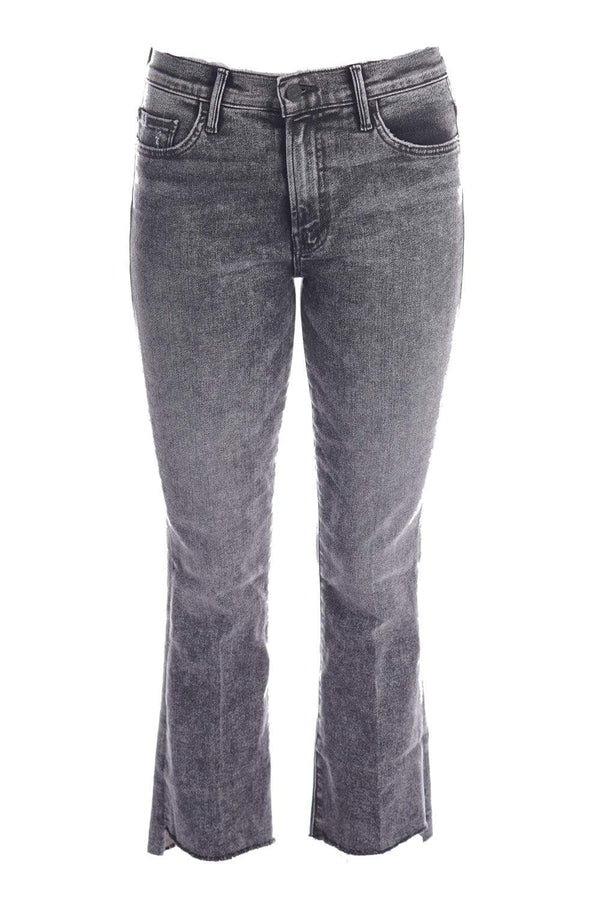 MOTHER Denim - The Insider Train Stops Crop Step Fray Jeans