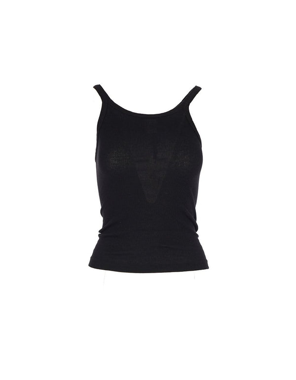 RE/DONE - Black Ribbed Tank