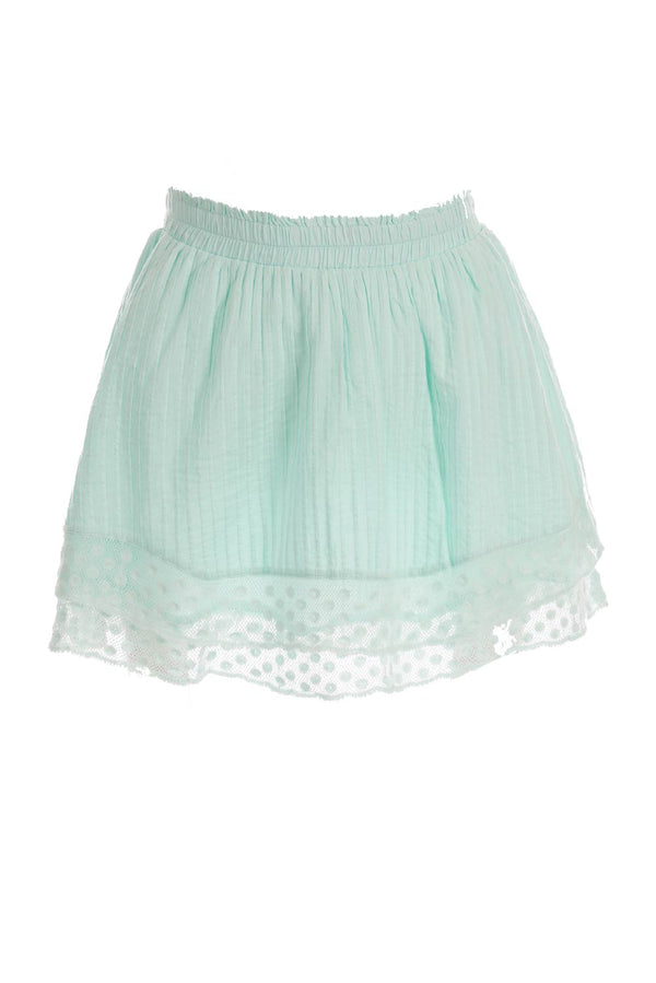 LoveShackFancy - Toya Ruffle Mini Skirt