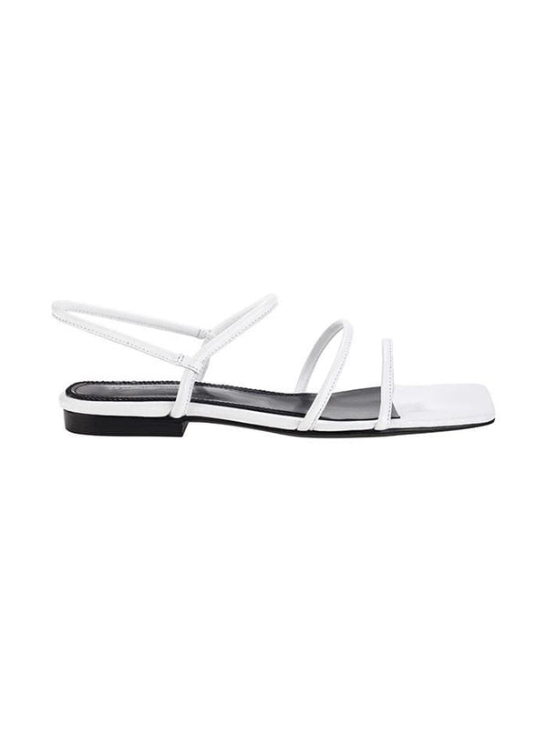 Easy White Sandal