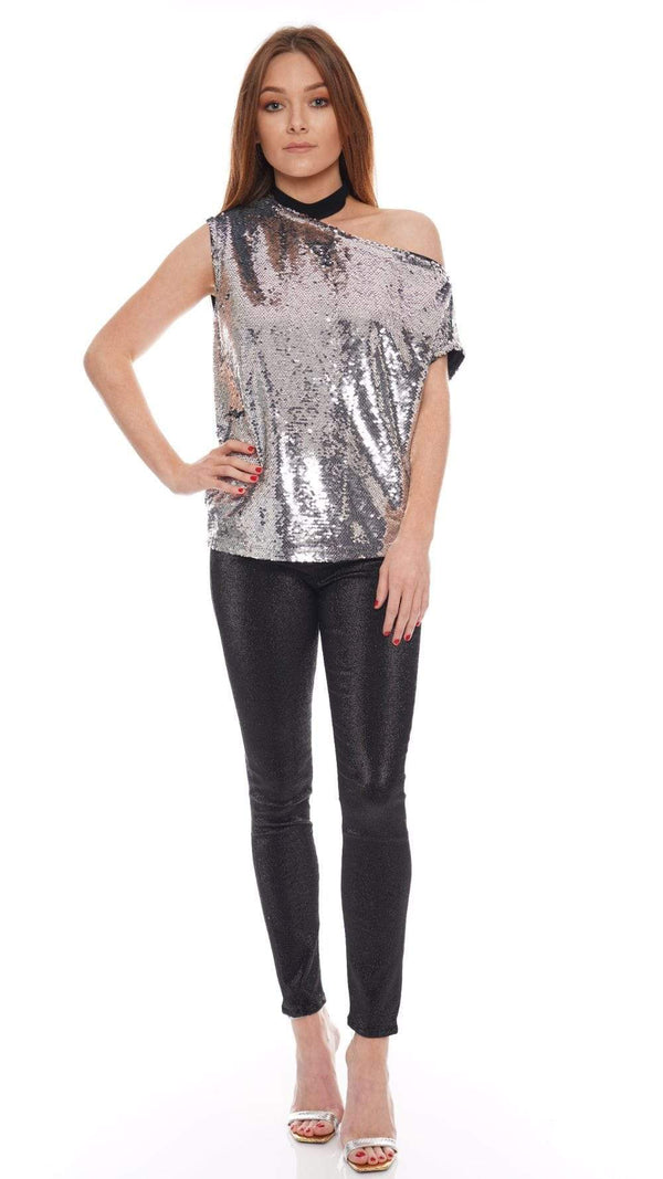 RtA - Axel Bottle Rocket Sequined Tee