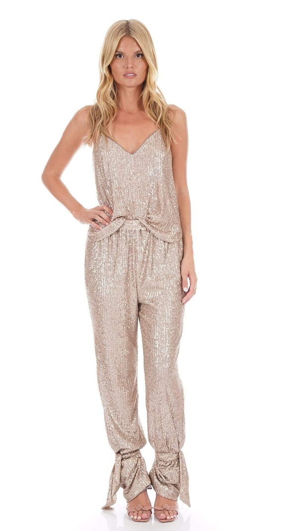 Lynette Featherlight Sequin Camisole