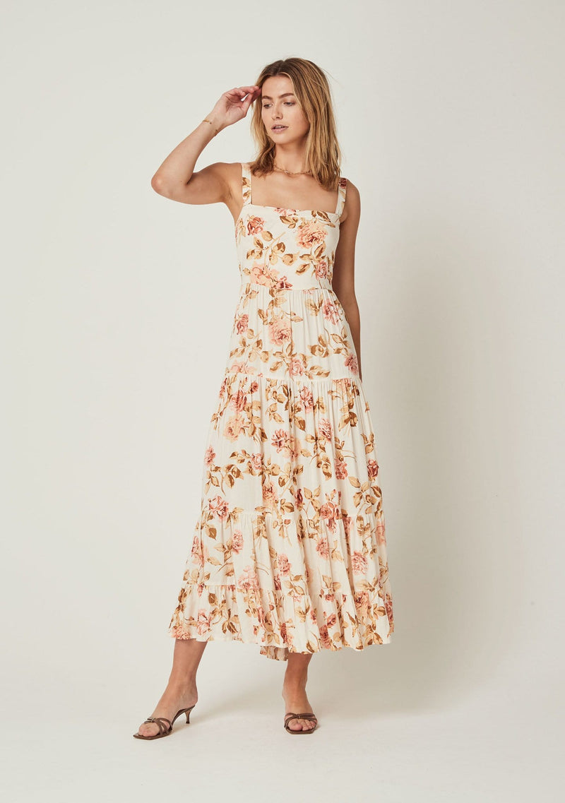 Eden April Maxi Dress Off White