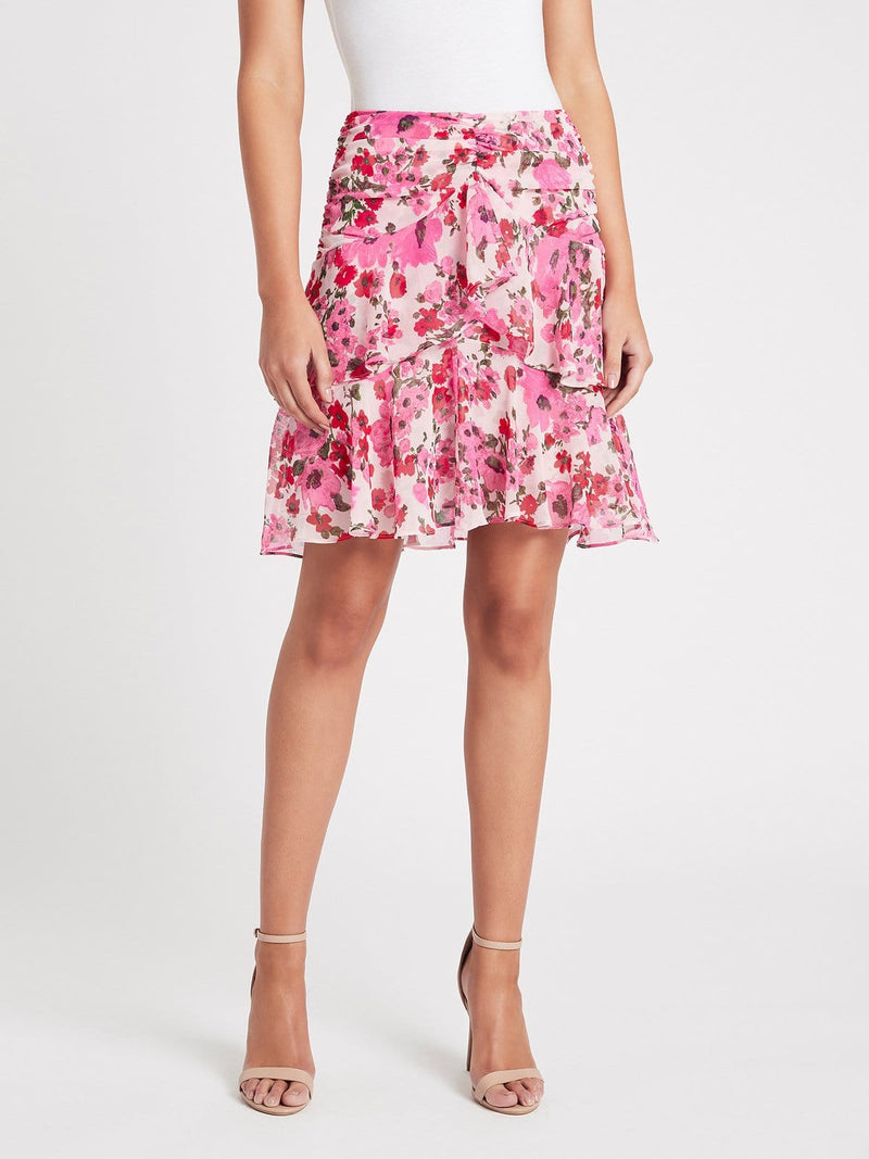 MISA LOS ANGELES - Elsie Ruffled Floral Skirt
