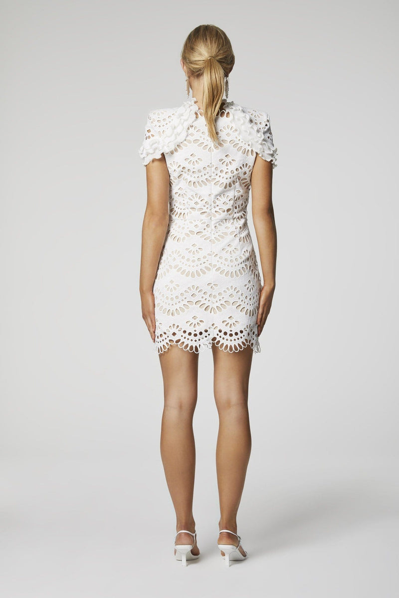 Elliatt - Caberet Embroidered Eyelet Lace Dress