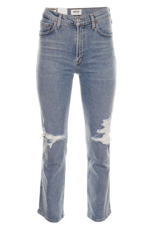 Wilder Whiplash Mid-Rise Straight Jeans