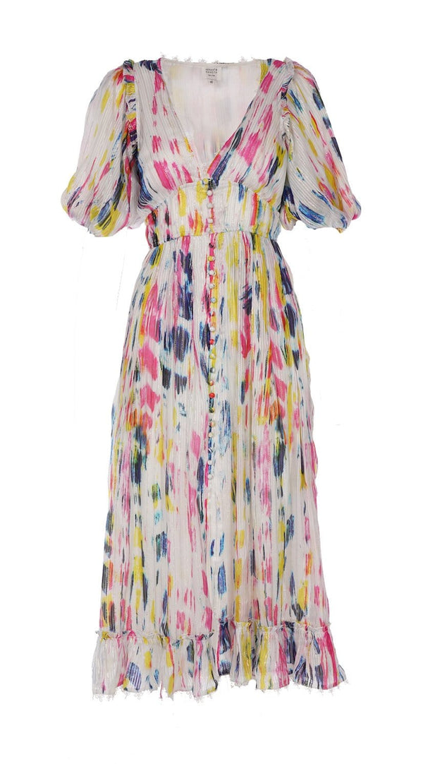 Jorah Tie Dye Midi Dress