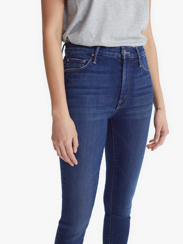 MOTHER Denim - High Waisted Looker Ankle Fray