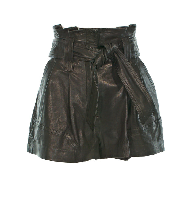 IRO - Bolsom Leather Shorts