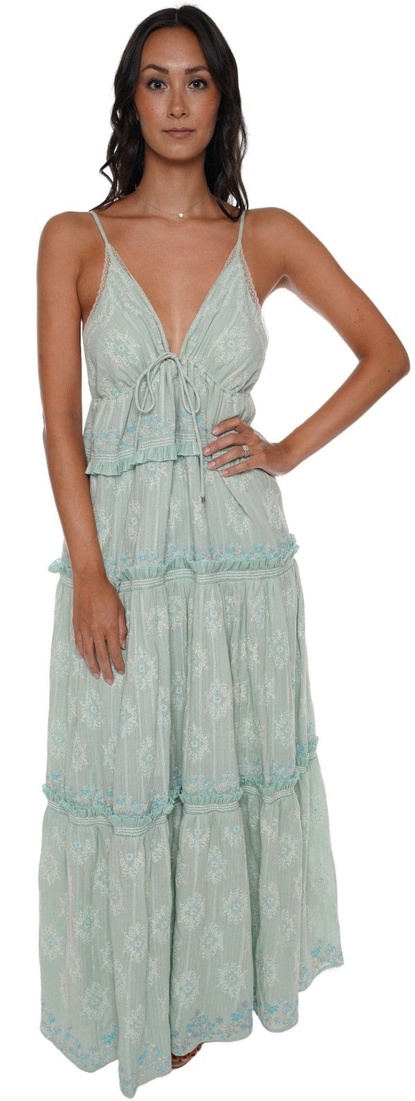 Jonathan Simkhai - Anniston Bohemian Cotton Maxi Dress