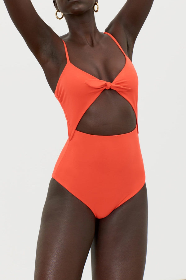 Mara Hoffman - KIA TIE FRONT ONE PIECE SWIMSUIT