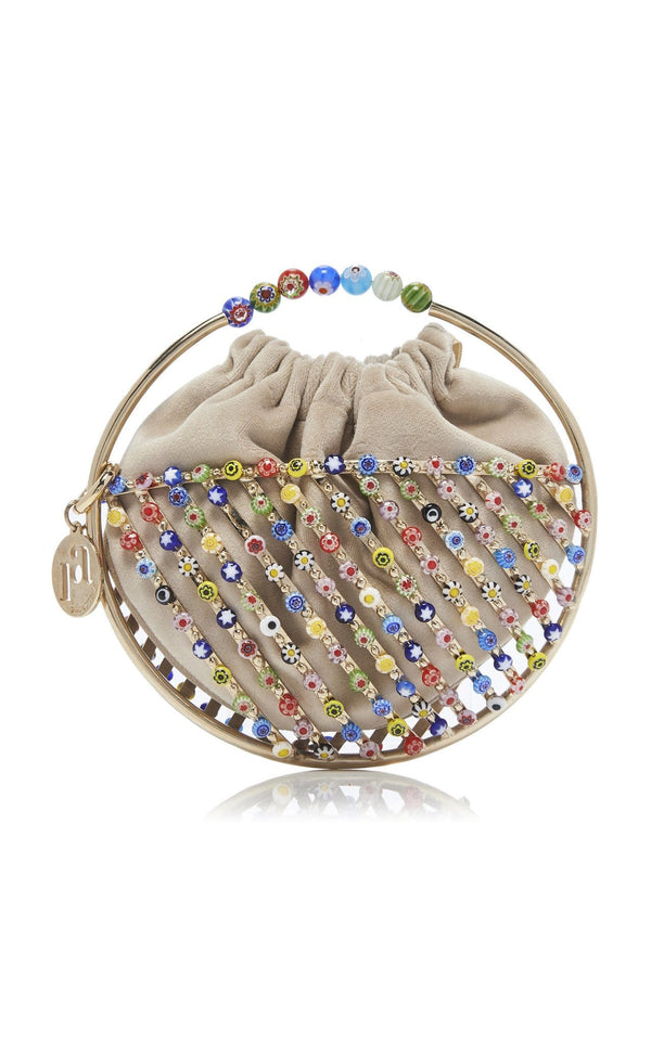 ROSANTICA - Carnevale Glass Bead Mini Bag