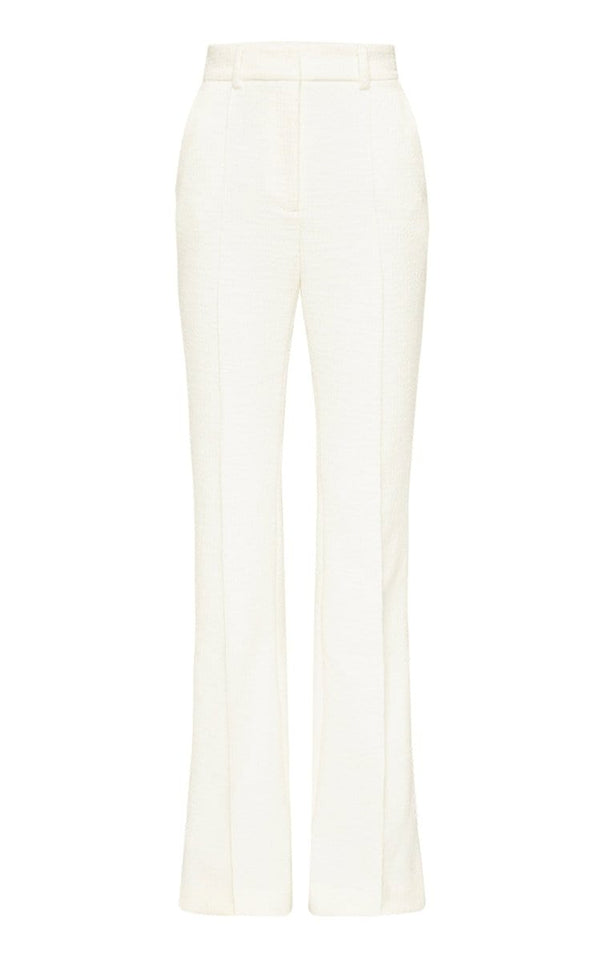 Rebecca Vallance Clara Ivory Straight Leg Pants