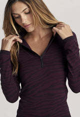 LAUREL HALF ZIP