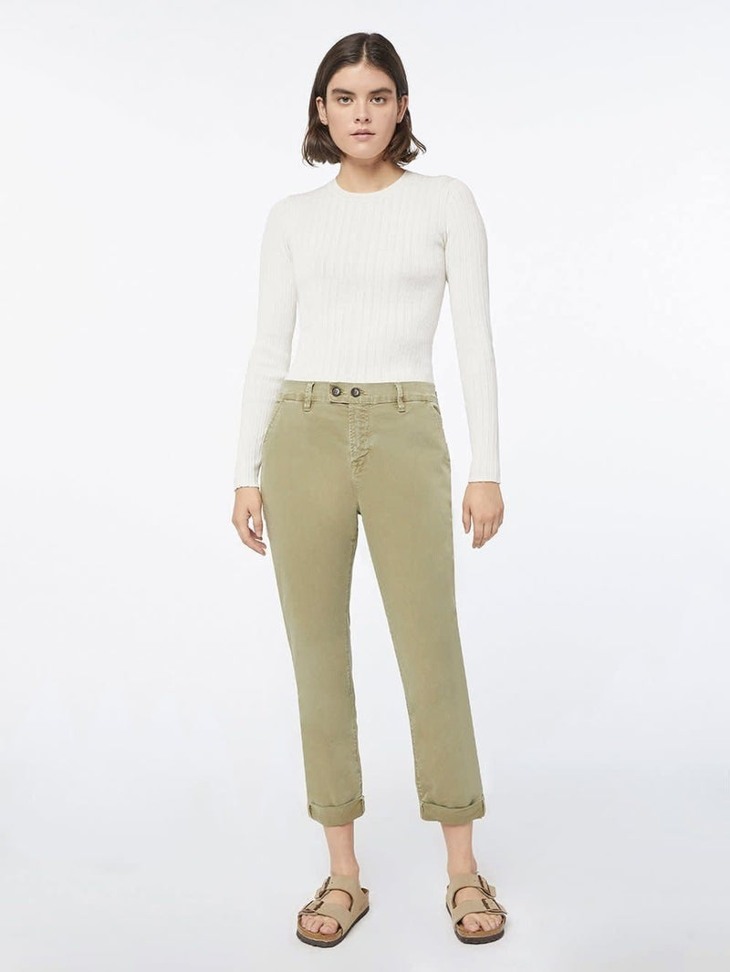 FRAME Le Beau Side Stripe Chino Pant