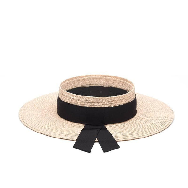 Lettie Visor With Grosgrain Band