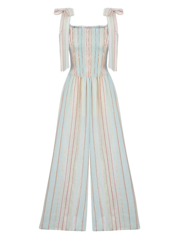 MY BEACHY SIDE - LAYLA STRIPED JUMPSUIT