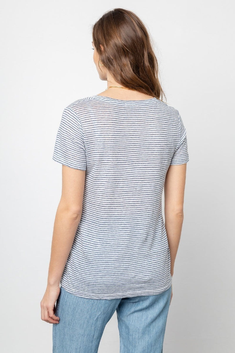 RAILS - Luna Striped T-Shirt