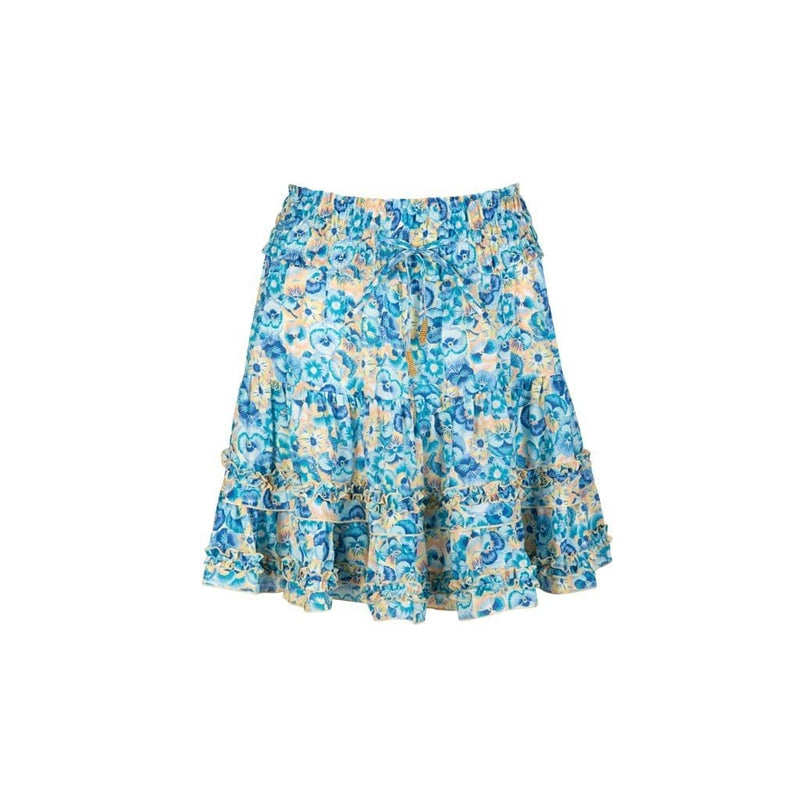 Paloma Blue - Maya Ruffled Mini Skirt