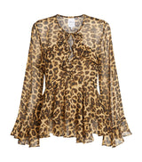 Damaris Leopard Top
