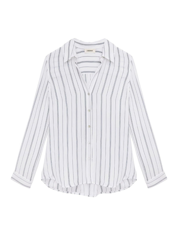 L'AGENCE - Nina Striped Blouse
