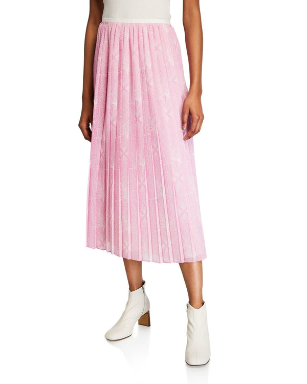 See by Chloé - Pleated Print Skirt