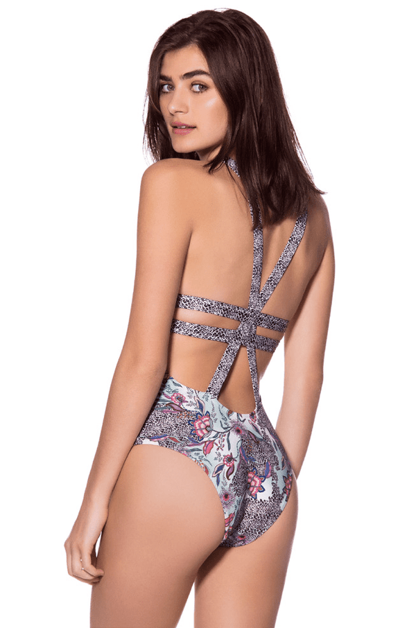 ONDADEMAR - AFRICAN FLOWER ONE PIECE