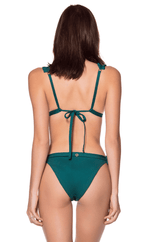 ONDADEMAR - BOX PLEAT BIKINI TOP