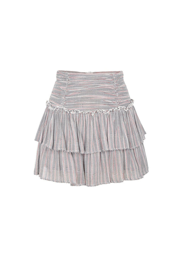 Auguste the Label - Maze Dylan Mini Skirt Off White