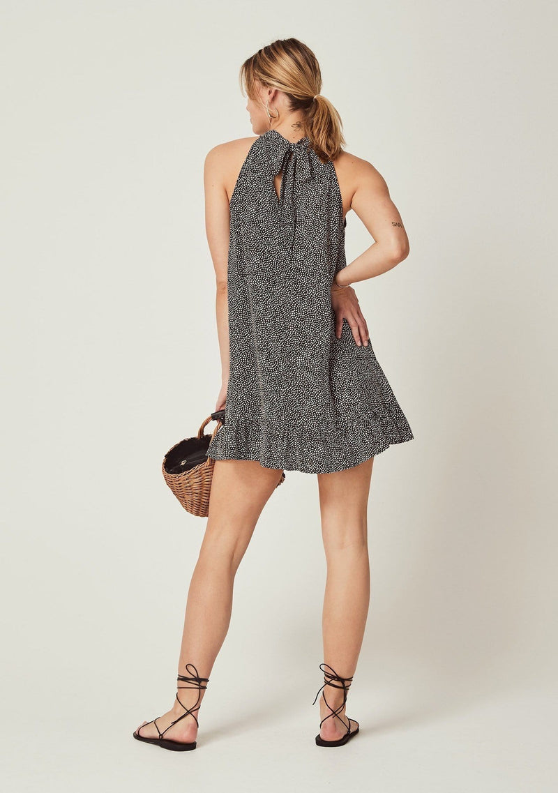 Auguste the Label - Teardrop Nora Mini Dress Charcoal