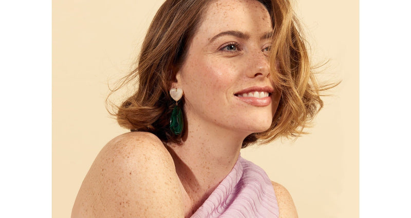 Roumana Malachite Earrings