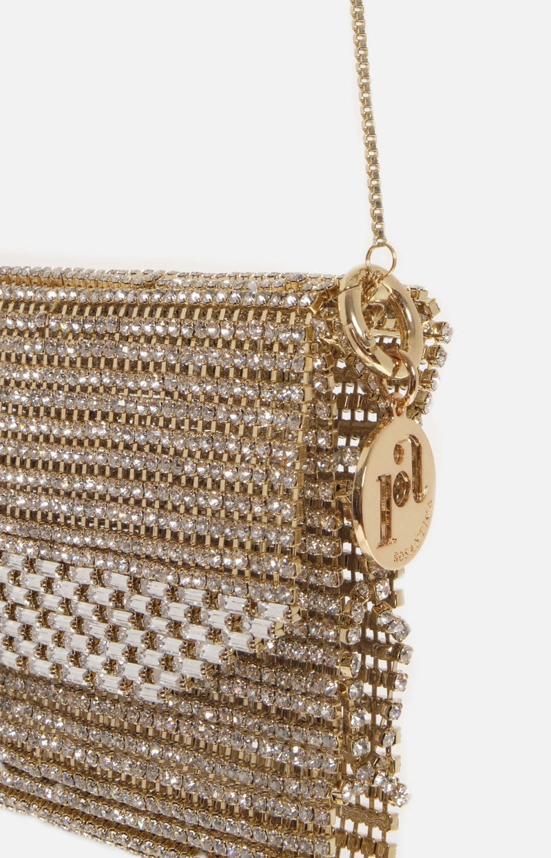 Rosanna Crossbody Bag With Crystals