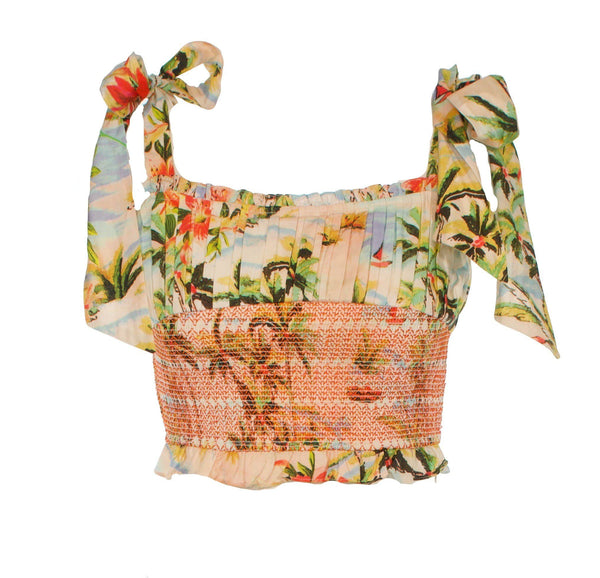 Rococo Sand Sunset Crop Top