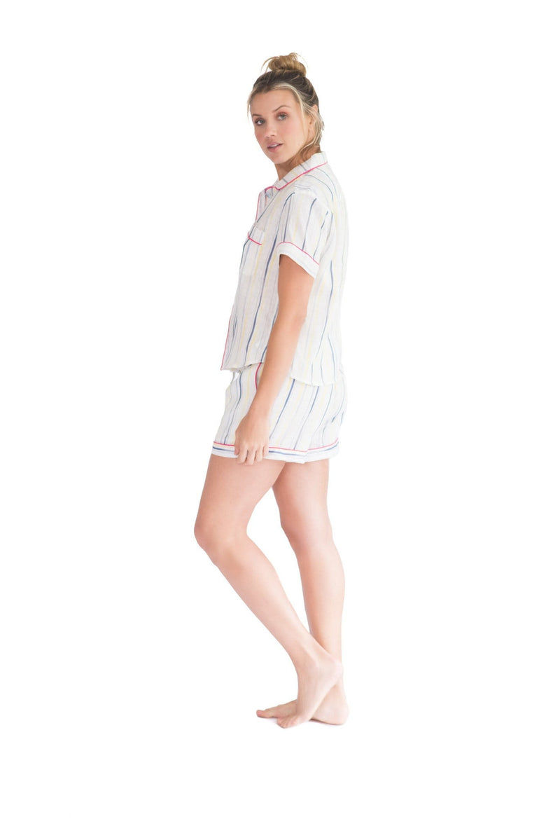 The Lazy Poet - Nina Ink Stripe Pajama Set