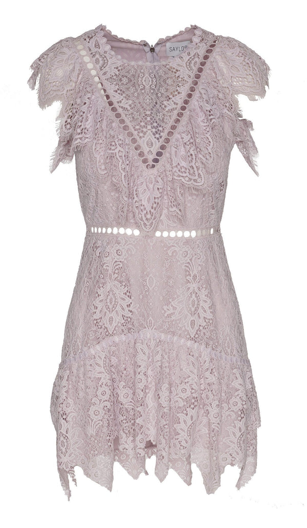 Saylor - Kerry Lace Mini Dress