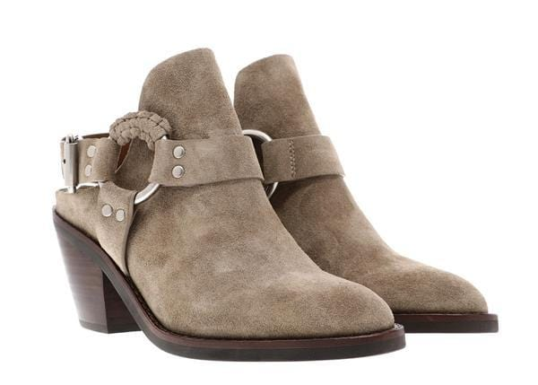 See by Chloé - Taupe Ankle Booties