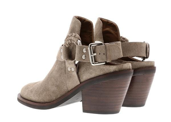 See by Chloé Taupe Ankle Booties