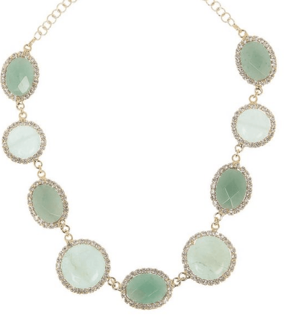 ROSANTICA - Angeli Green Quartz Necklace