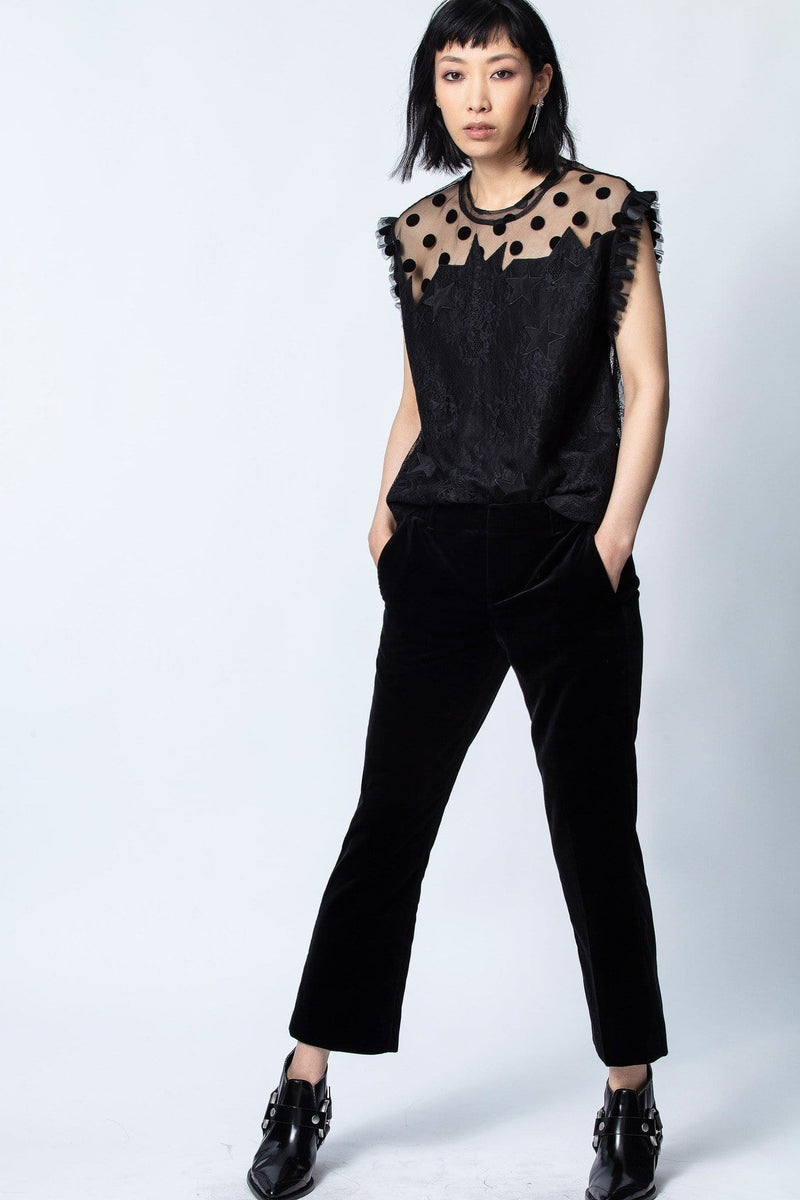 Zadig & Voltaire - Tetro Lace Top