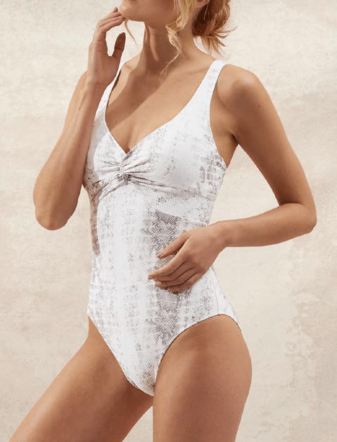 Heidi Klein - ONE PIECE TWIST SWIMSUIT