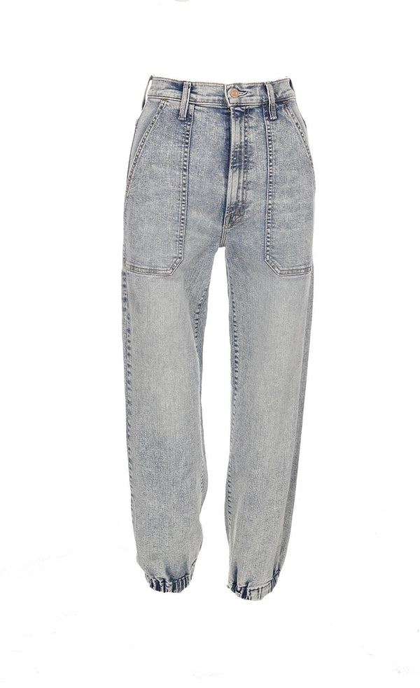 The Wrapper Patch Springy Ankle Jean