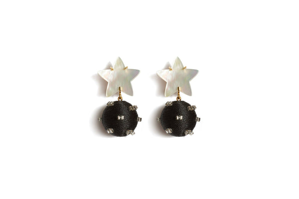 Lizzie Fortunato Starburst Drop Earrings